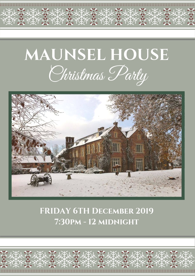 CHRISTMAS PARTY AT MAUNSEL HOUSE 9