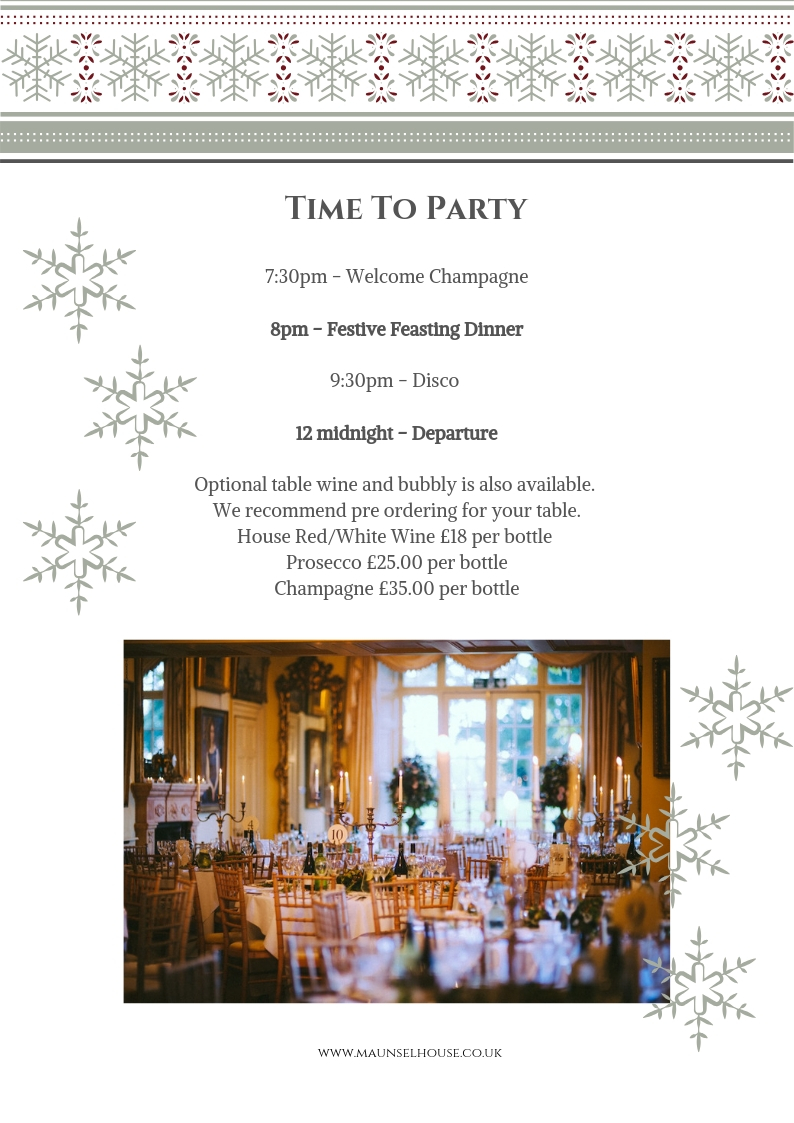 CHRISTMAS PARTY AT MAUNSEL HOUSE 2